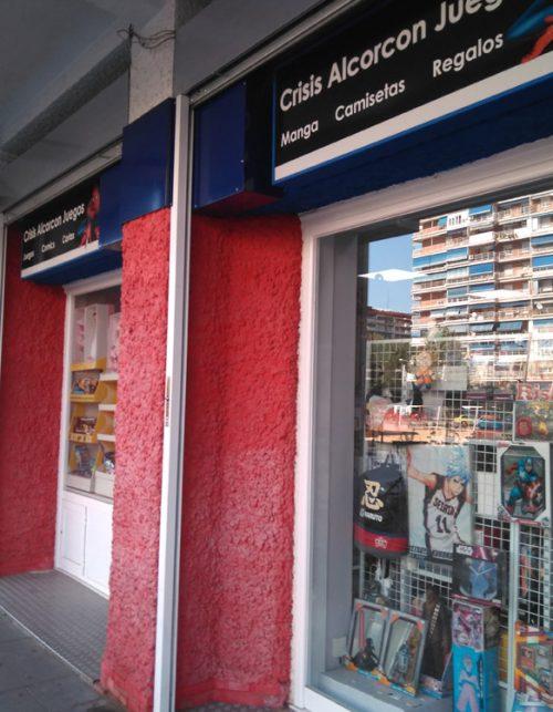 Tienda Juegos Crisis en Alcorcón